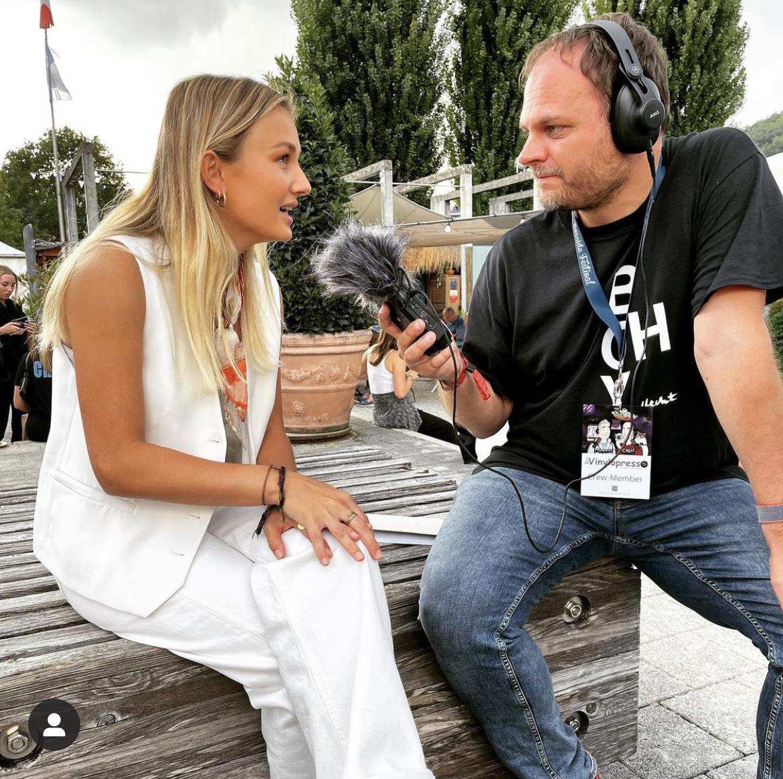 May Sheila im Vinylopresso Interview Seaside 2021